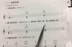 代用和弦_功能和弦_泛调和弦